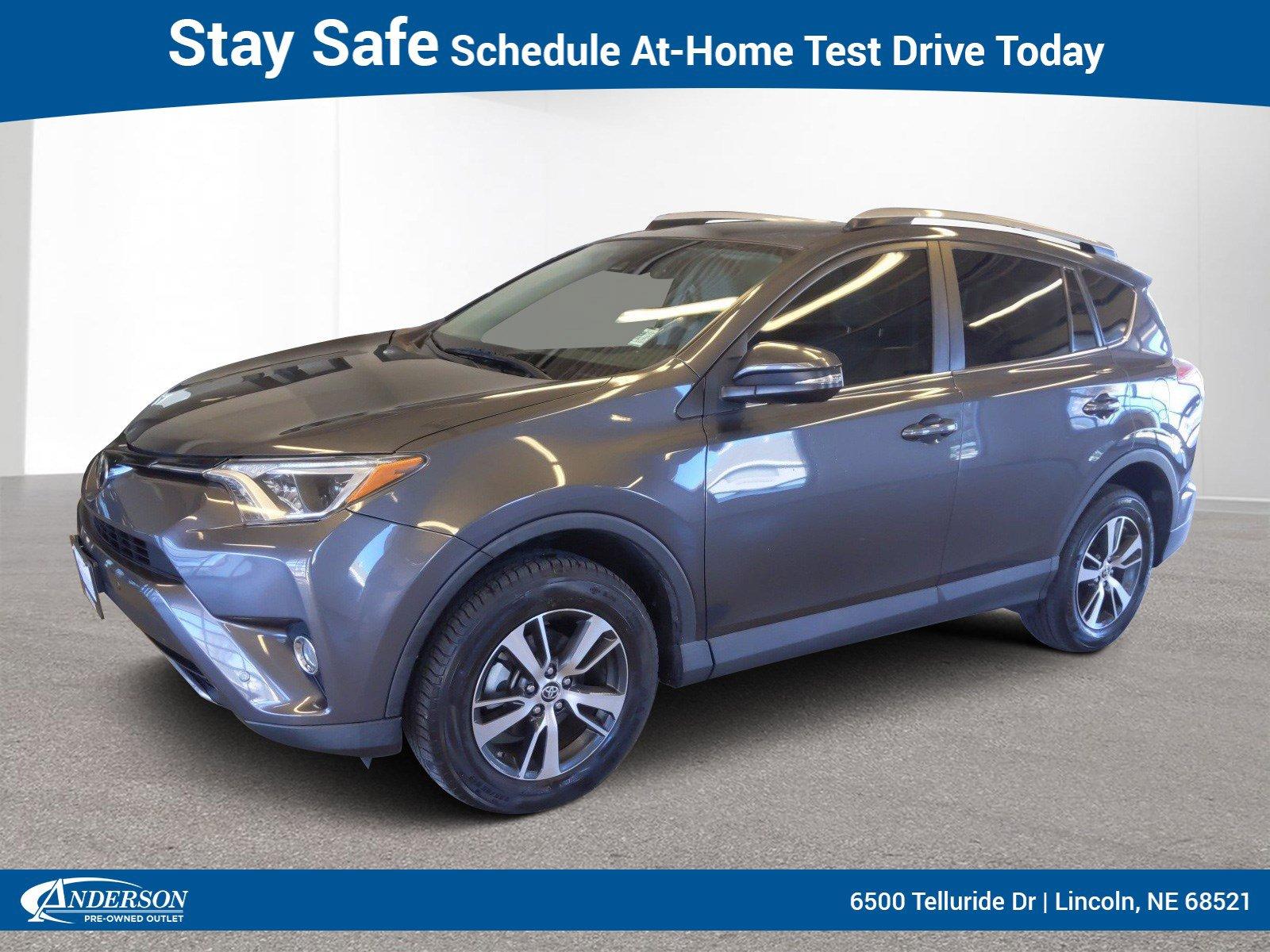 Used 2017 Toyota RAV4 XLE AWD Stock: AT1106