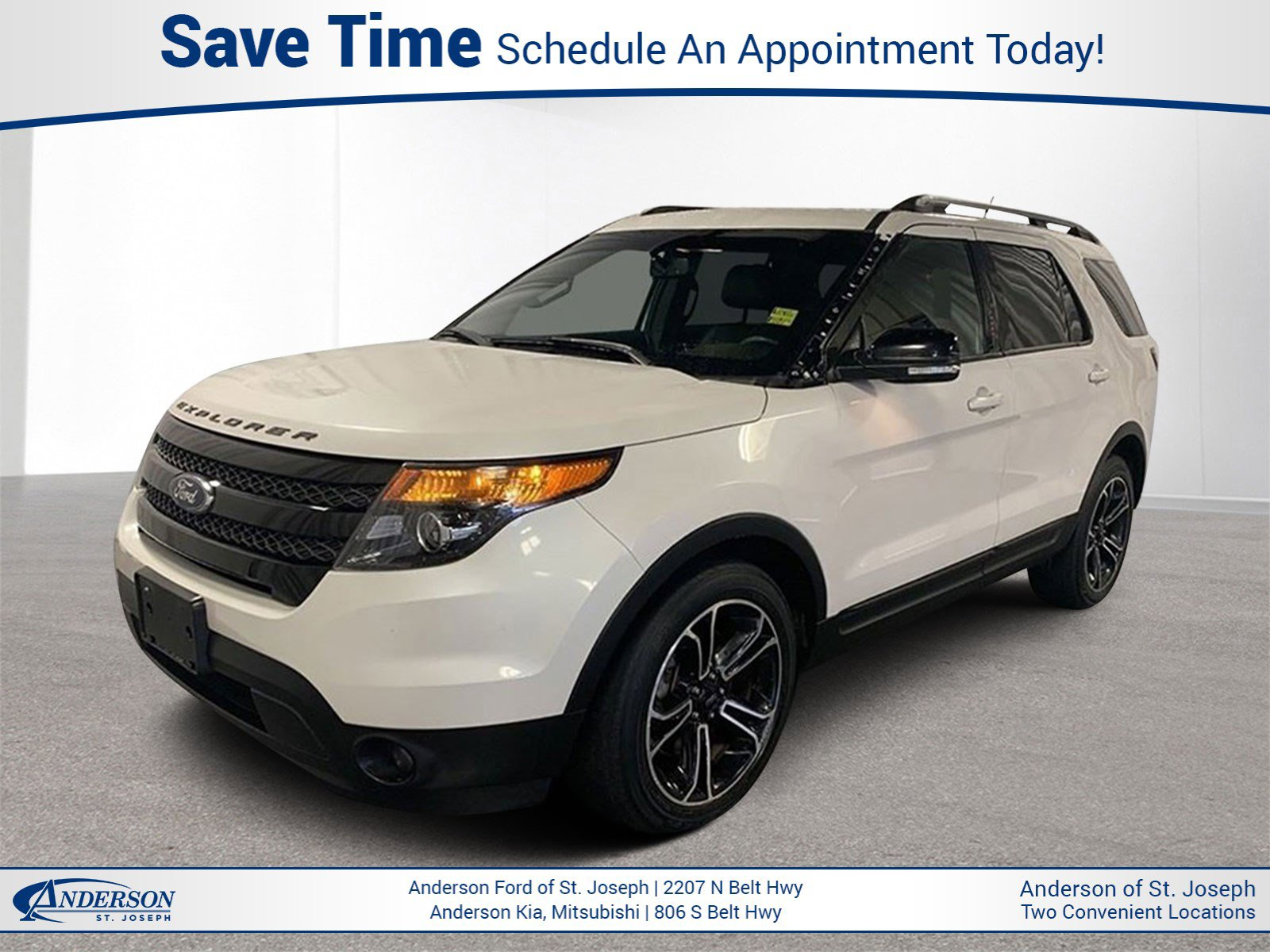 Used 2015 Ford Explorer Sport Sport Utility for sale in St Joseph MO