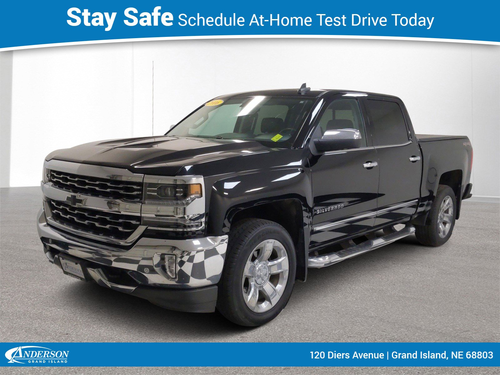 Used 2016 Chevrolet Silverado 1500 LTZ 4D Crew Cab for sale in Grand Island NE