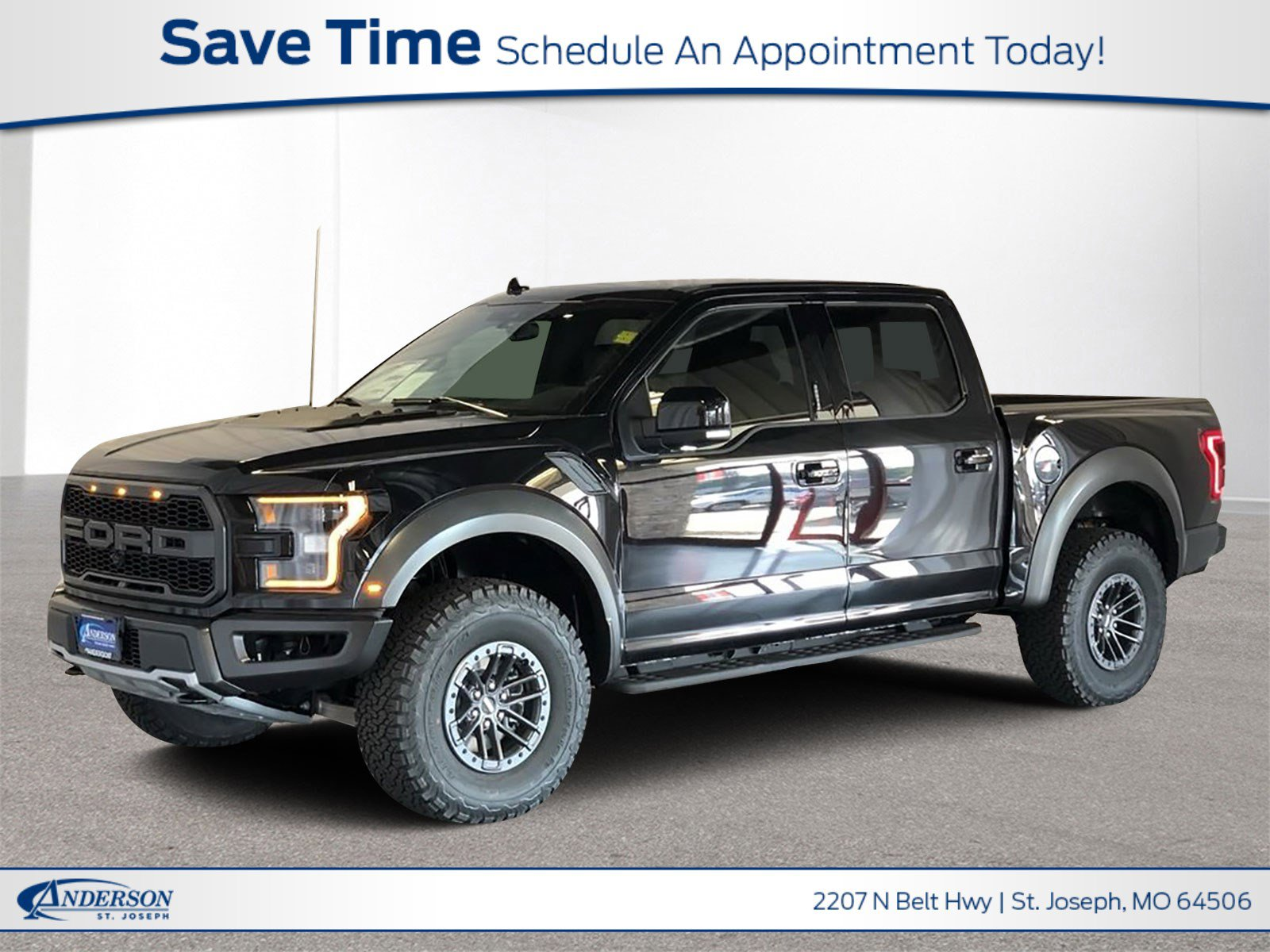 New 2019 Ford F-150 Raptor Crew Cab Pickup for sale in St Joseph MO