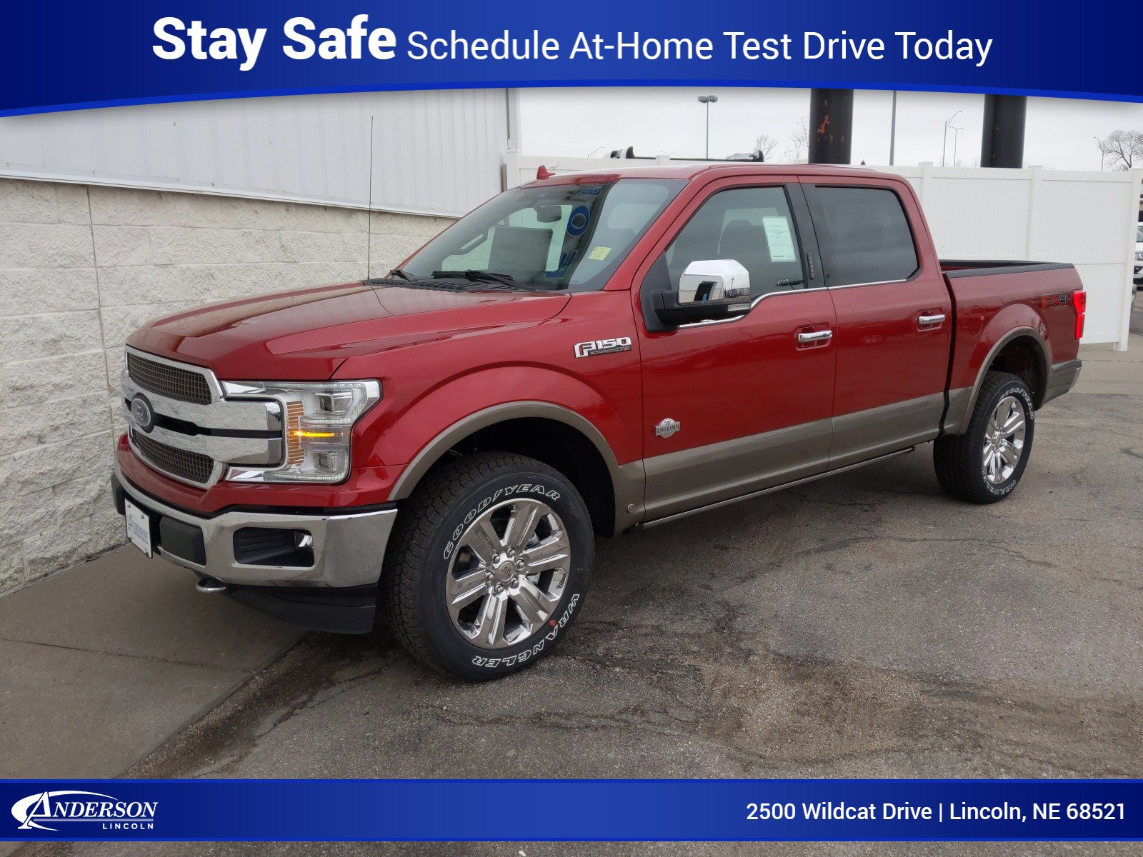New 2020 Ford F-150 King Ranch Crew Cab Pickup for sale in Lincoln NE