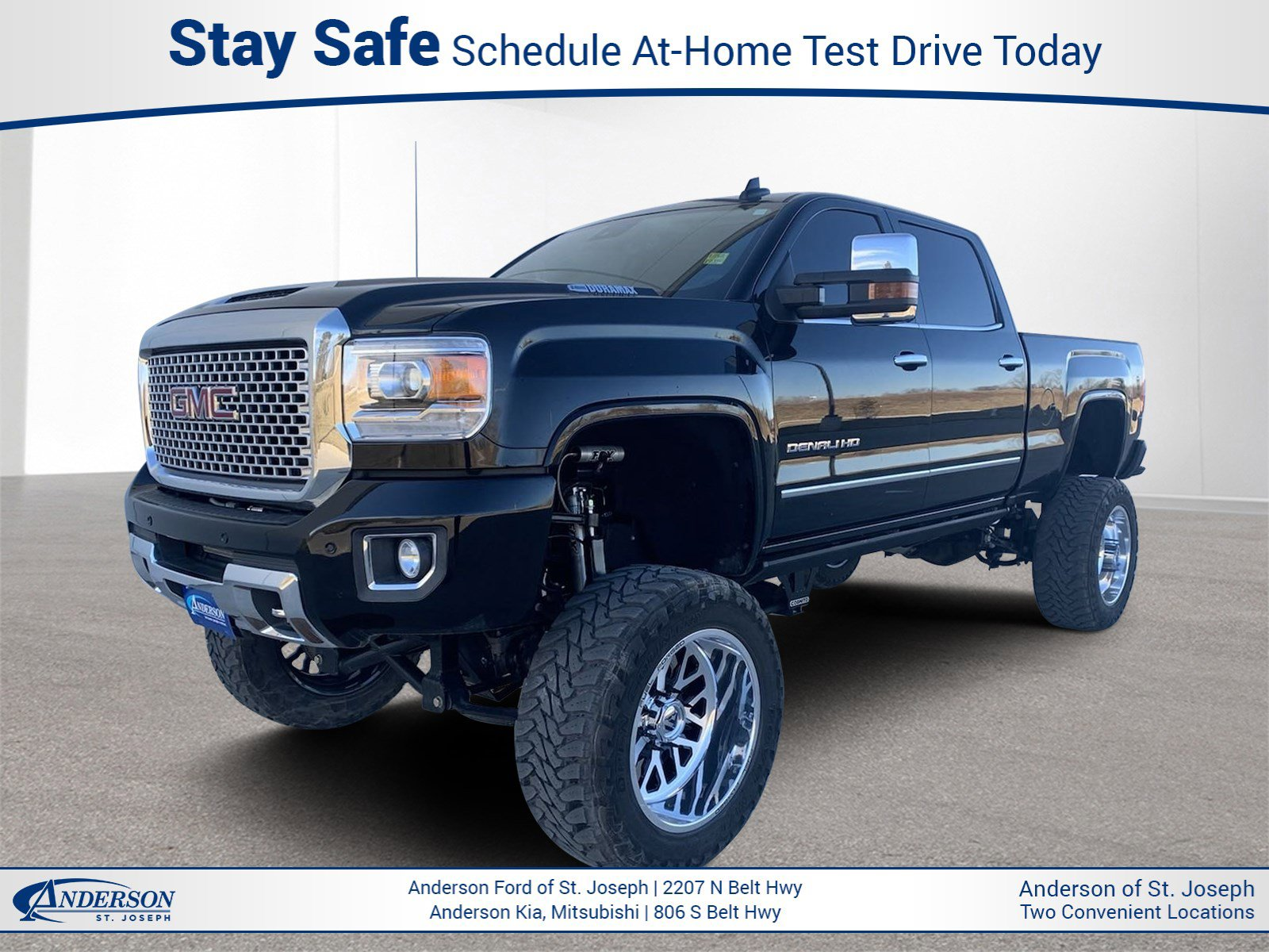 Used 2017 GMC Sierra 2500HD Denali Crew Cab Pickup for sale in St Joseph MO