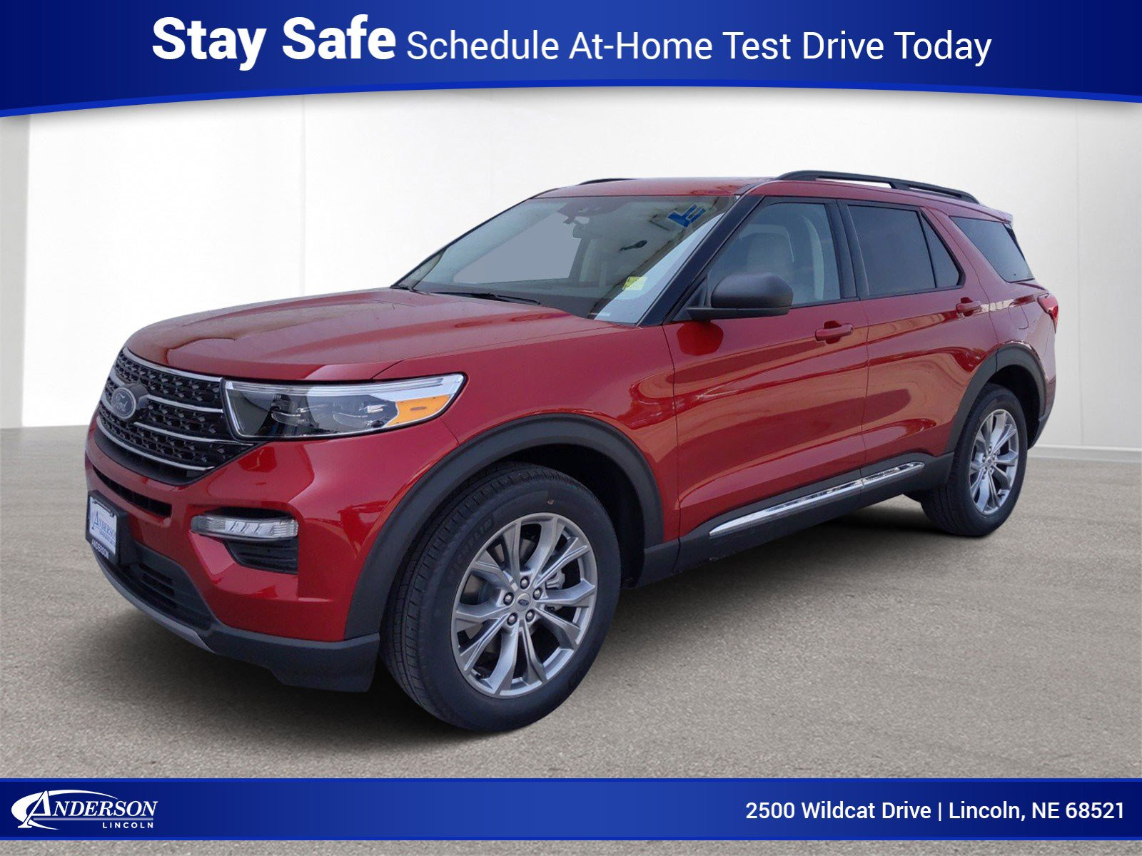 New 2020 Ford Explorer XLT 4WD Stock: L22717