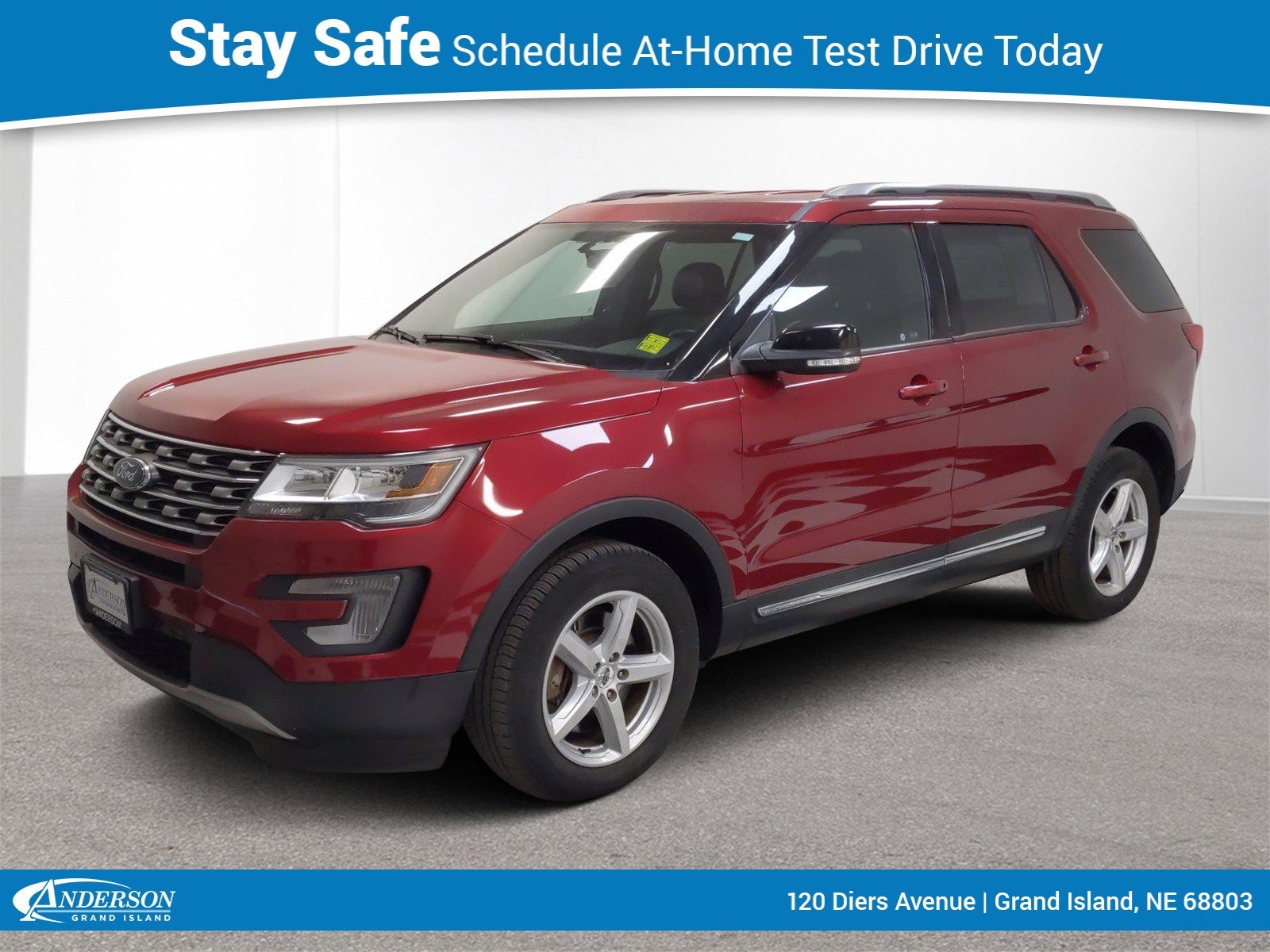 Used 2017 Ford Explorer XLT 4D Sport Utility for sale in Grand Island NE