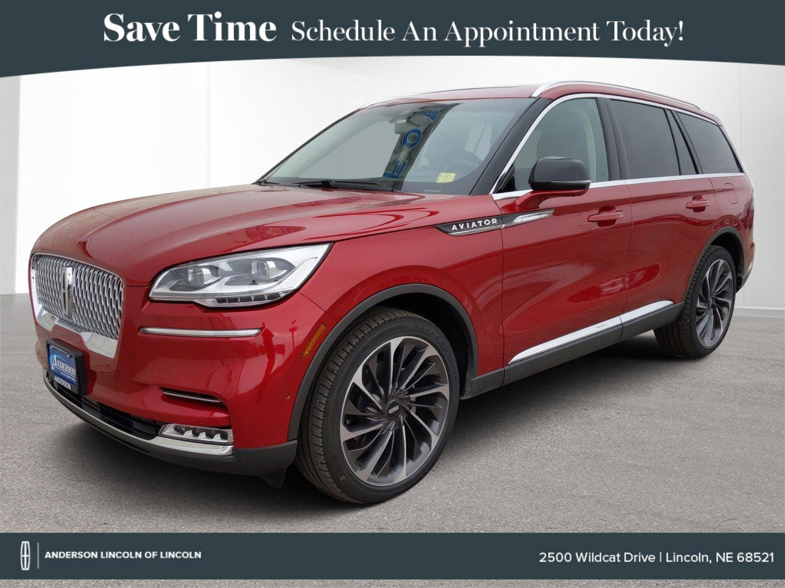 New 2020 Lincoln Aviator Reserve Sport Utility for sale in Lincoln NE