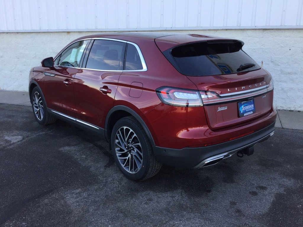 New 2019 Lincoln Nautilus Reserve Sport Utility for sale in Lincoln NE