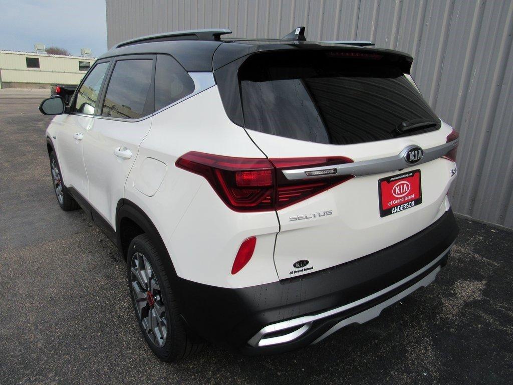 New 2021 Kia Seltos S 4D Sport Utility for sale in Grand Island NE
