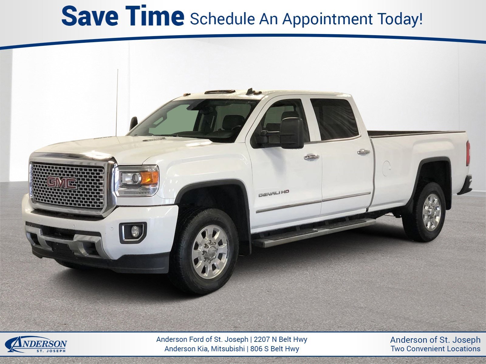 Used 2015 GMC Sierra 3500HD Denali Crew Cab Pickup for sale in St Joseph MO
