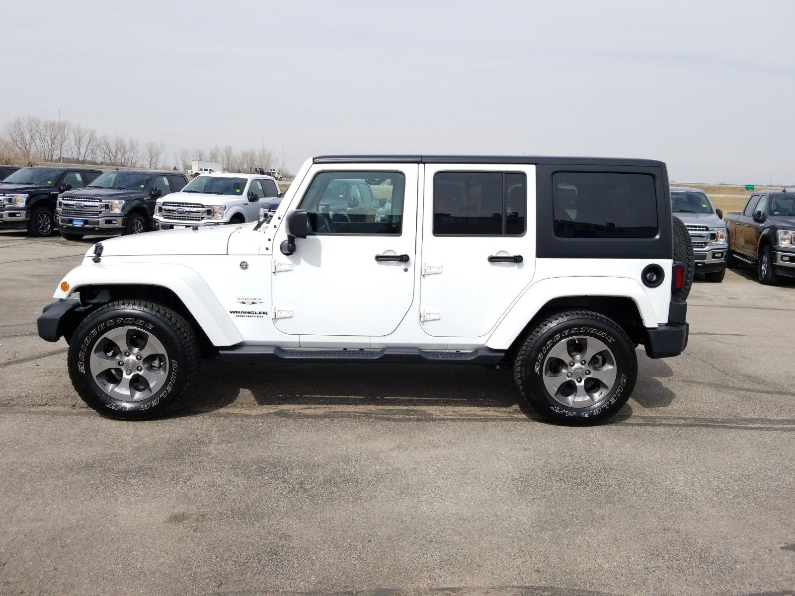 Used 2017 Jeep Wrangler Unlimited Sahara Convertible for sale in Lincoln NE