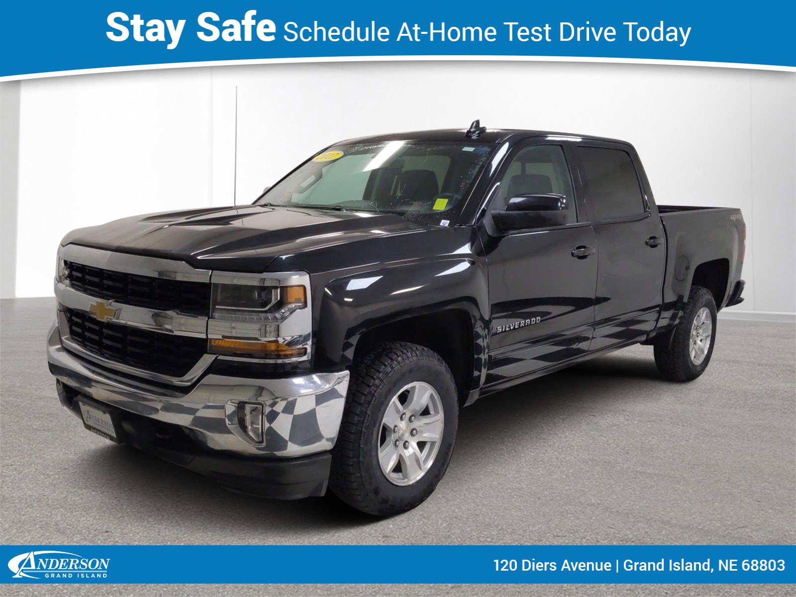 Used 2017 Chevrolet Silverado 1500 LT 4D Crew Cab for sale in Grand Island NE