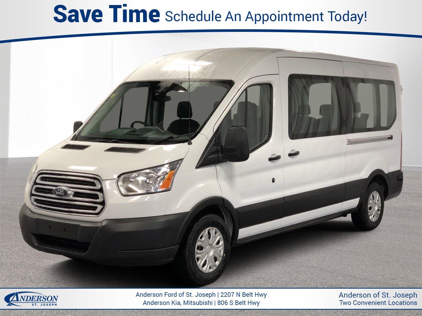 Used 2019 Ford Transit Passenger Wagon XLT Full-size Passenger Van for sale in St Joseph MO