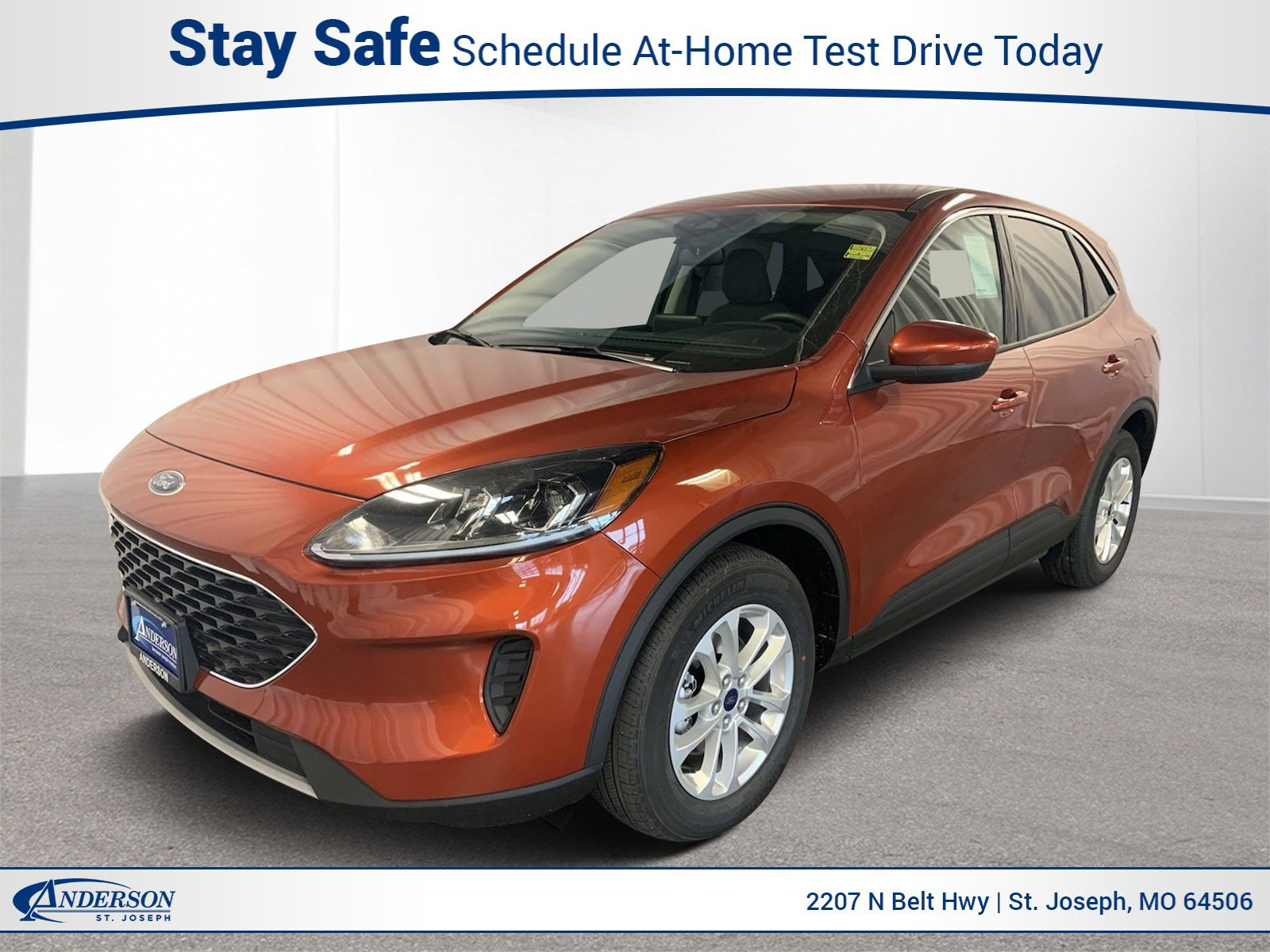 New 2020 Ford Escape SE Sport Utility for sale in St Joseph MO