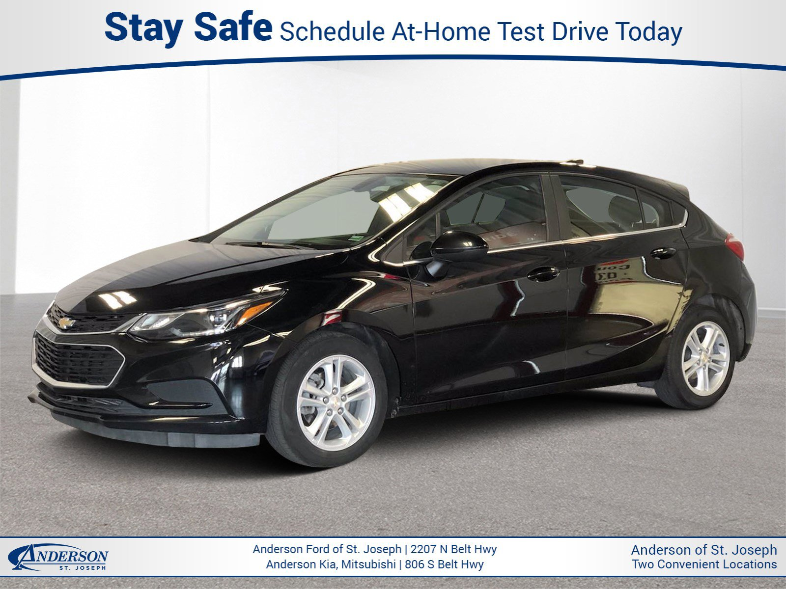 Used 2017 Chevrolet Cruze LT Hatchback for sale in St Joseph MO