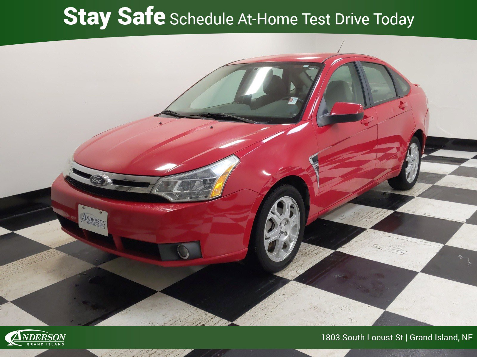 Used 2008 Ford Focus SE 4dr Car for sale in Grand Island NE