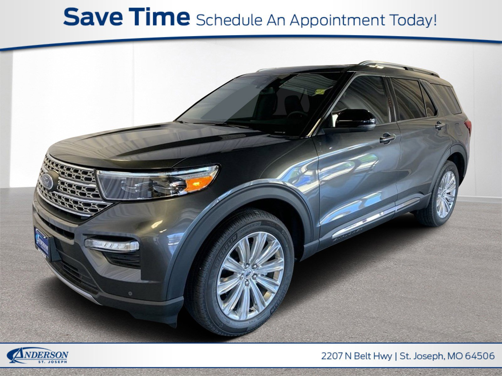 New 2020 Ford Explorer Limited Sport Utility for sale in St Joseph MO