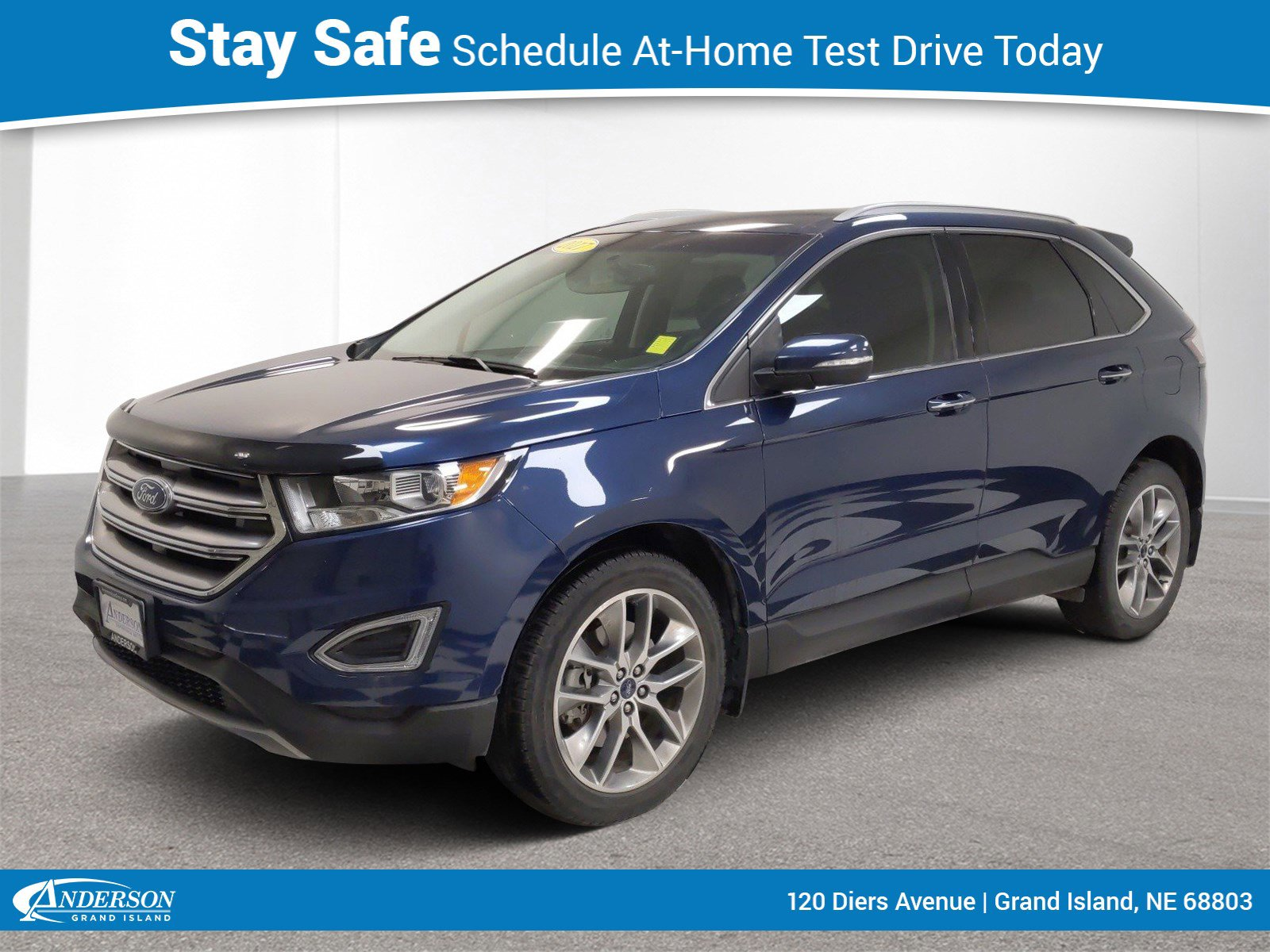 Used 2017 Ford Edge Titanium 4D Sport Utility for sale in Grand Island NE