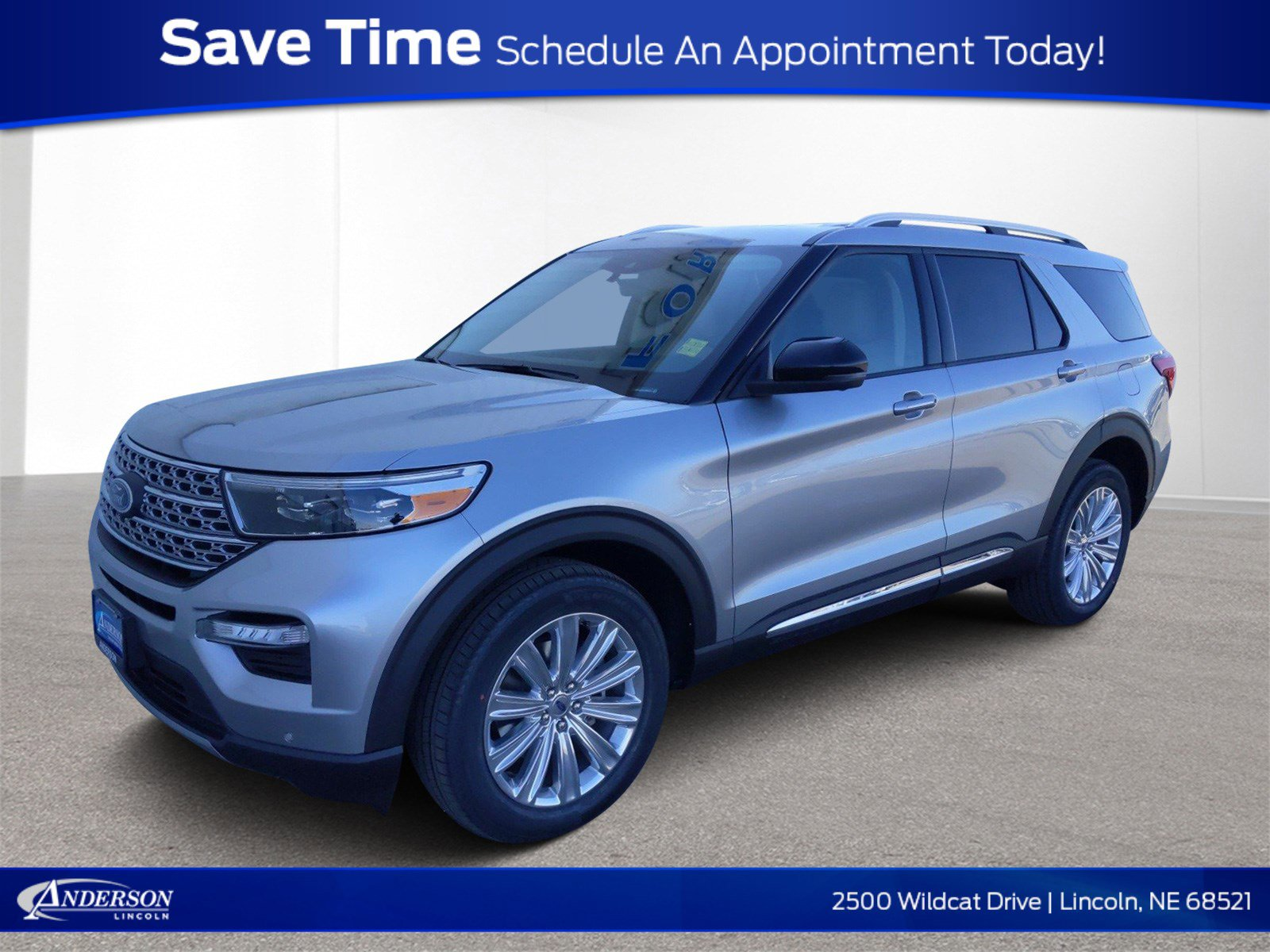 New 2020 Ford Explorer Limited Sport Utility for sale in Lincoln NE