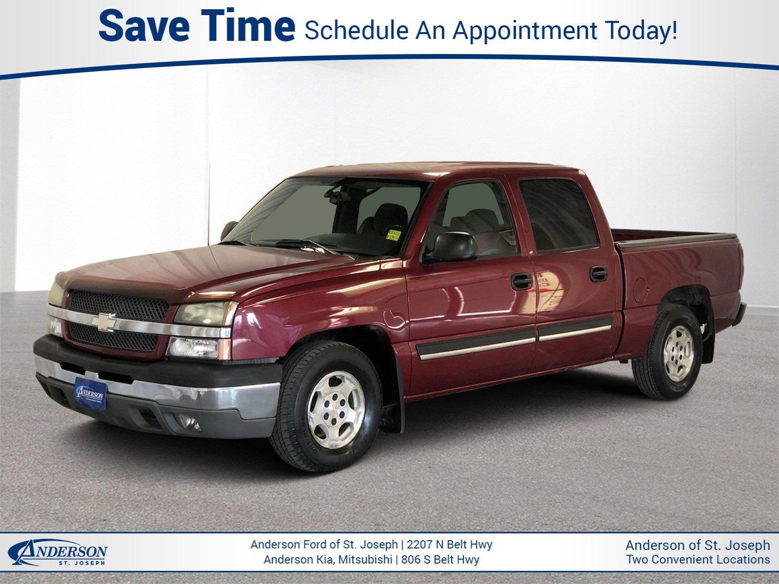 Used 2004 Chevrolet Silverado 1500 Crew Cab LS Crew Cab Pickup for sale in St Joseph MO