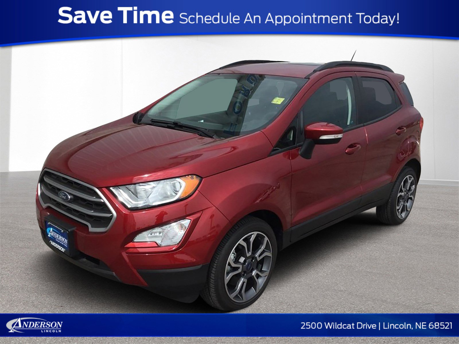 New 2018 Ford Ecosport SE Sport Utility for sale in Lincoln NE
