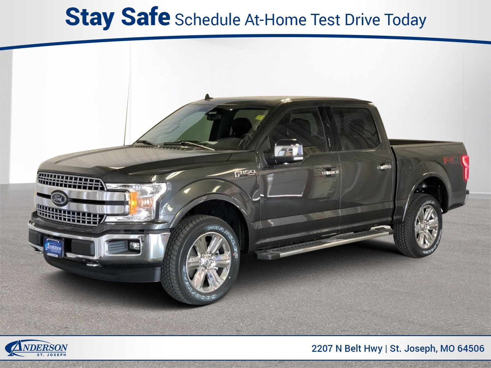 New 2020 Ford F-150 Lariat Crew Cab Pickup for sale in St Joseph MO