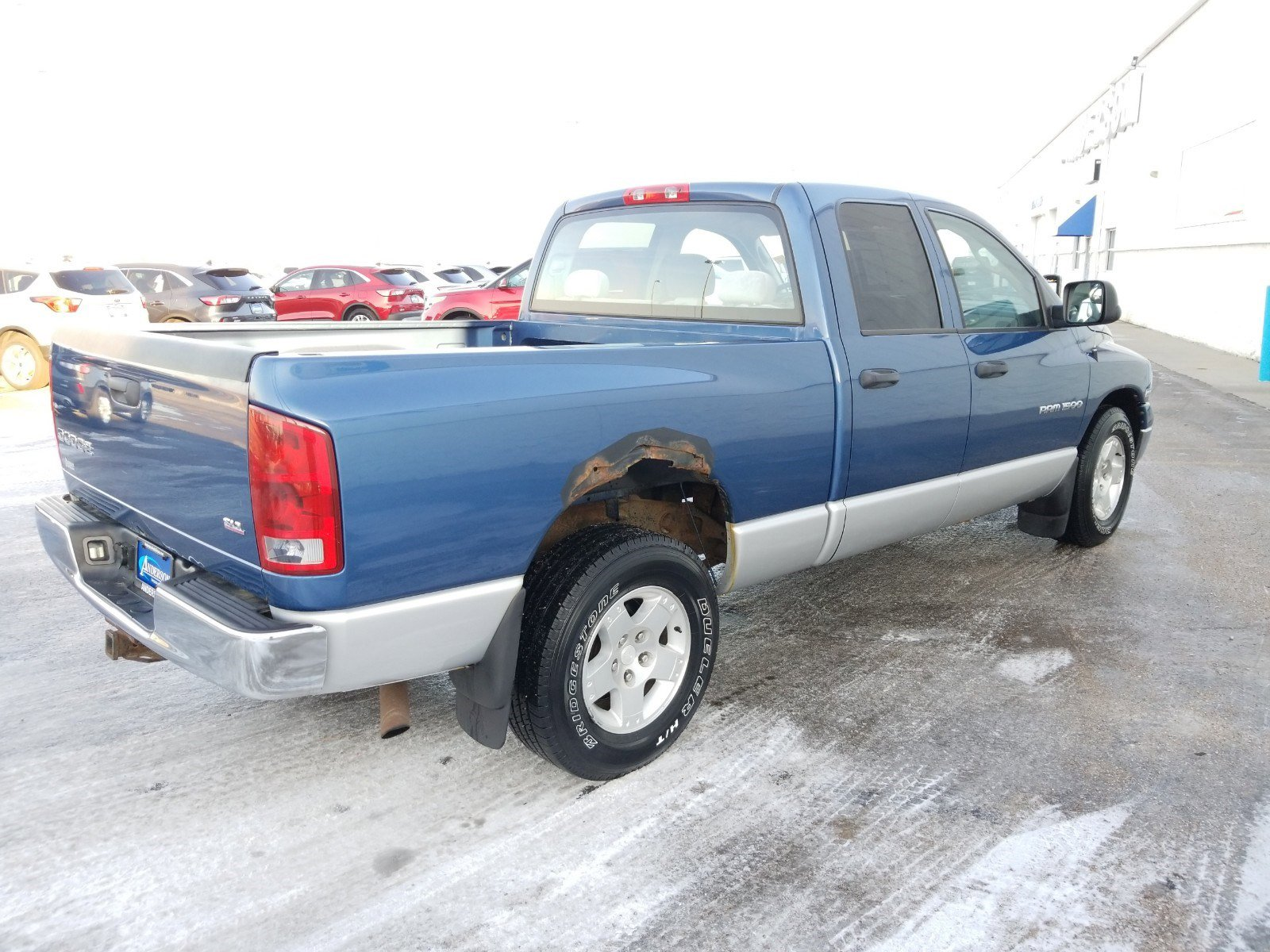 Used 2004 Dodge Ram 1500 SLT Crew Cab Pickup for sale in Lincoln NE