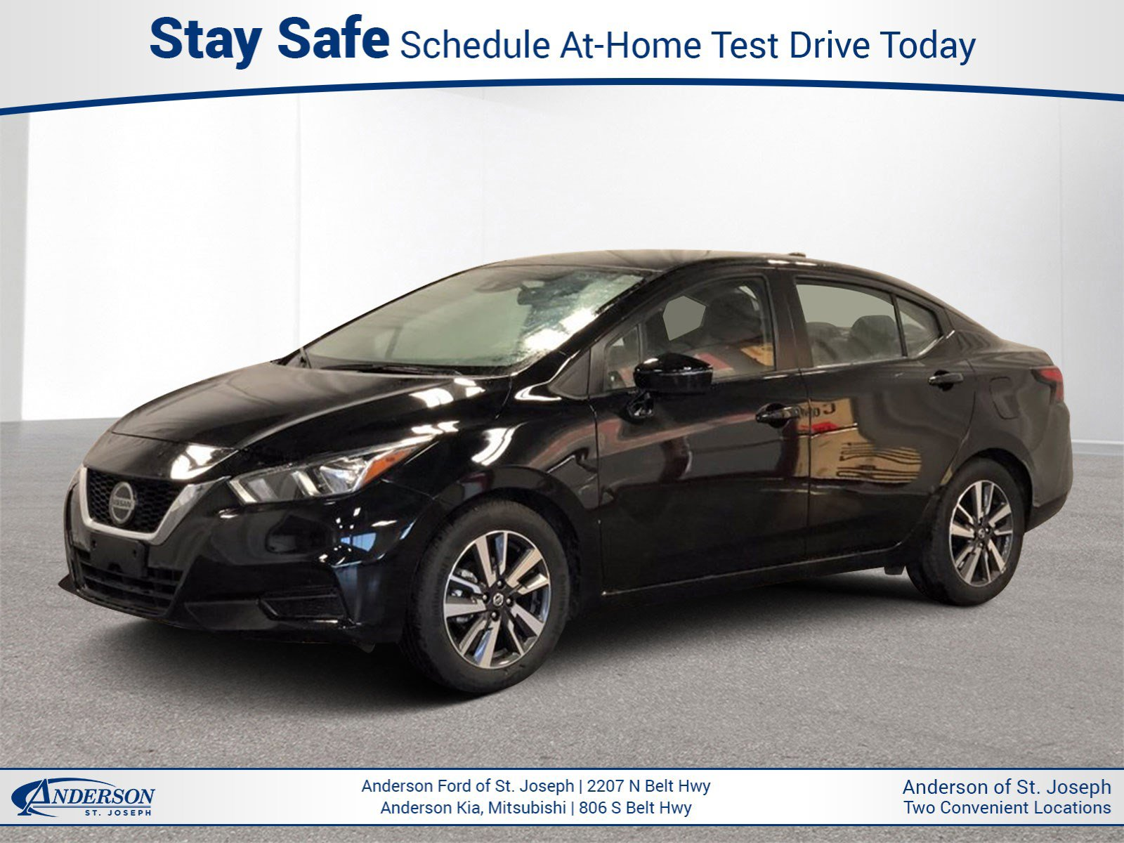 Used 2020 Nissan Versa SV 4dr Car for sale in St Joseph MO