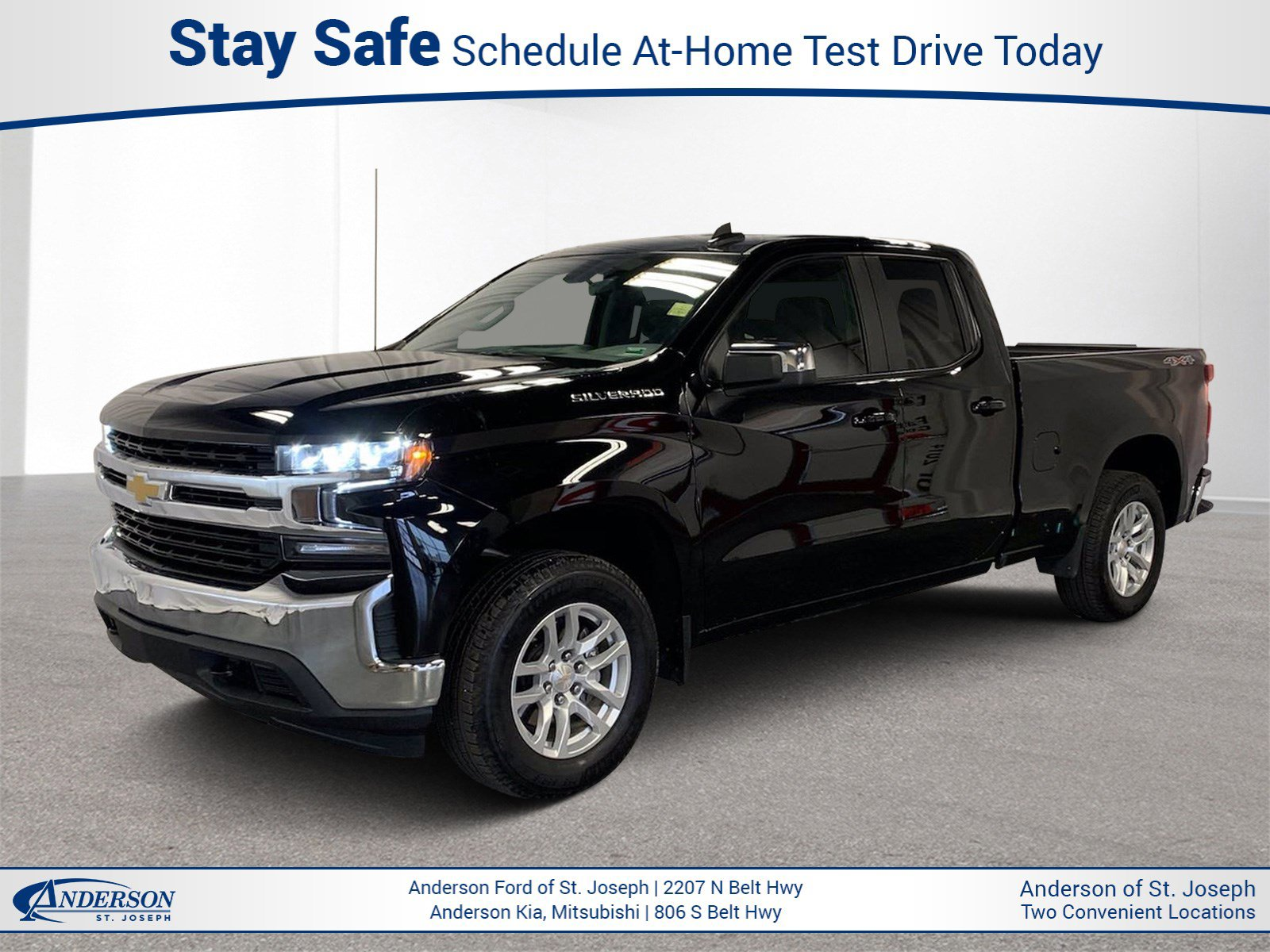 Used 2020 Chevrolet Silverado 1500 LT Extended Cab Pickup for sale in St Joseph MO