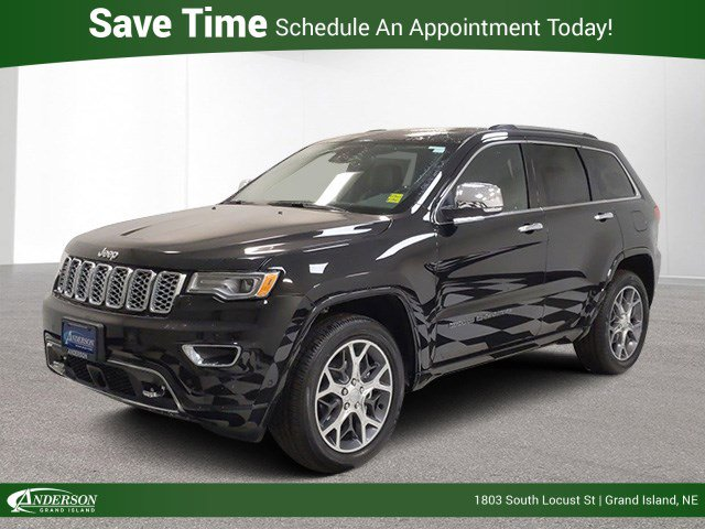New 2020 Jeep Grand Cherokee Overland Sport Utility for sale in Grand Island NE