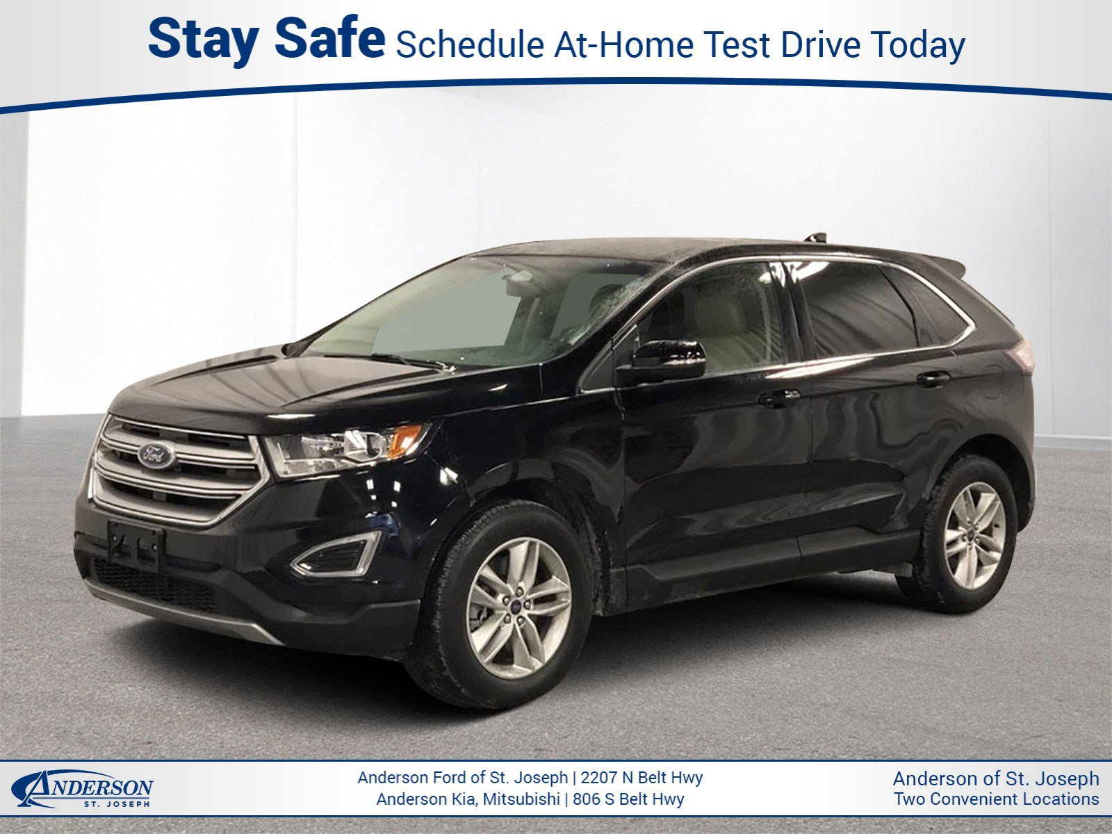 Used 2017 Ford Edge SEL Sport Utility for sale in St Joseph MO