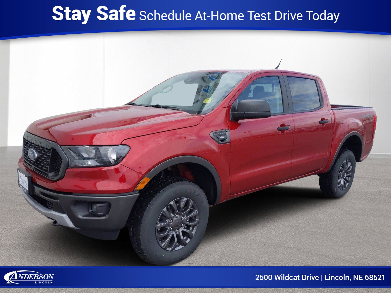 New 2020 Ford Ranger XLT Crew Cab Pickup for sale in Lincoln NE