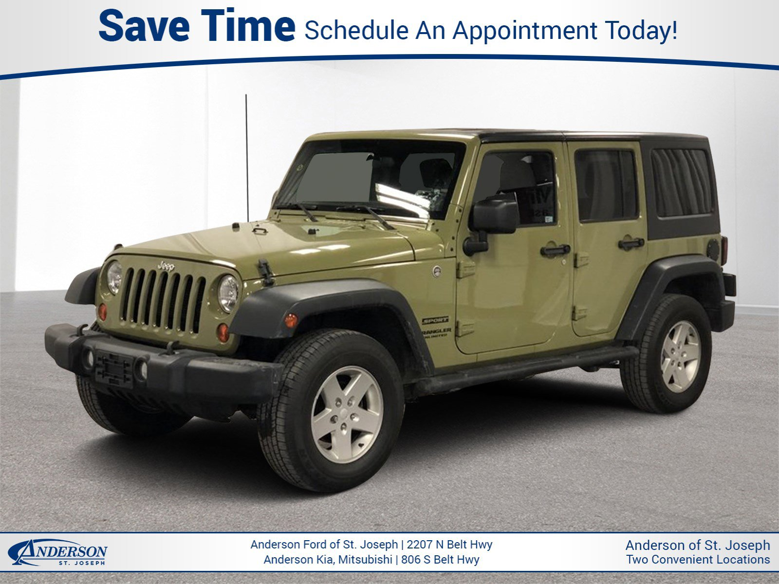 Used 2013 Jeep Wrangler Unlimited Sport Convertible for sale in St Joseph MO