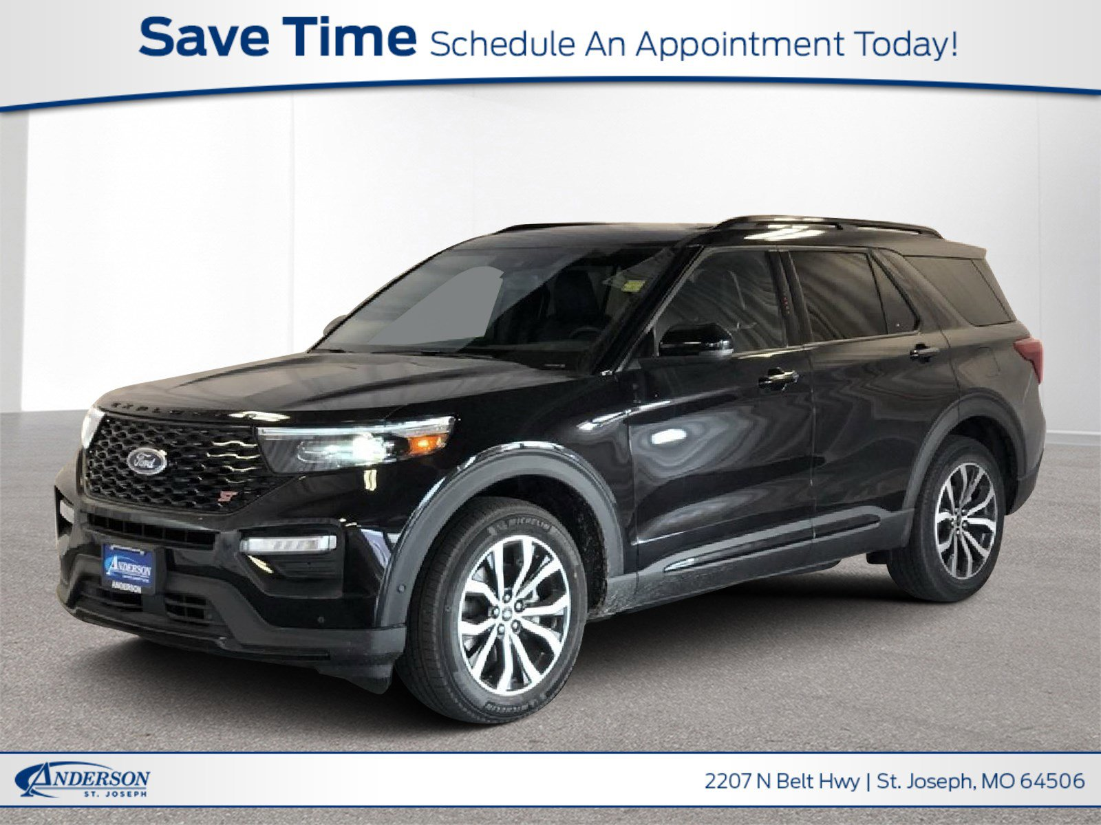 New 2020 Ford Explorer ST Sport Utility for sale in St Joseph MO
