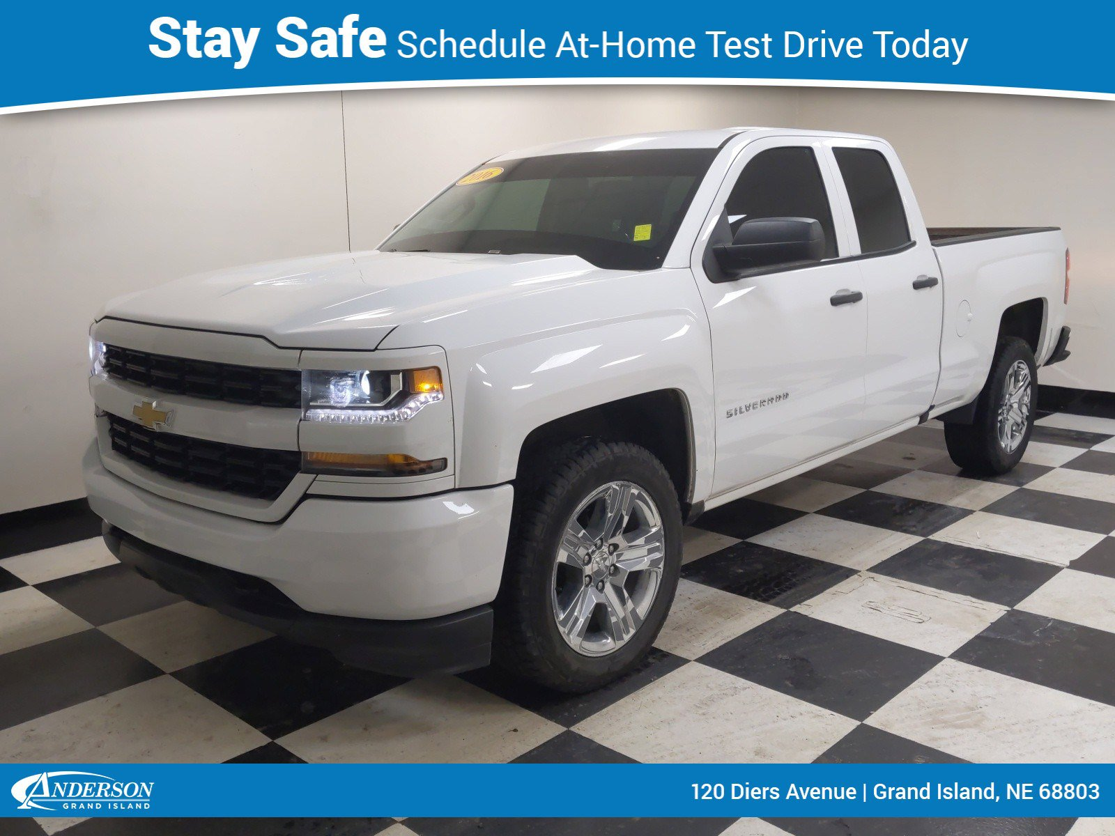 Used 2016 Chevrolet Silverado 1500 Custom 4D Double Cab for sale in Grand Island NE