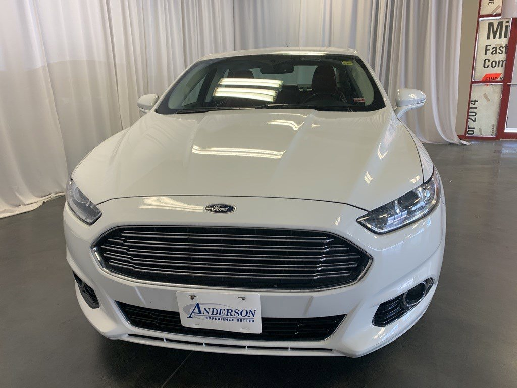Used 2015 Ford Fusion Titanium 4dr Car for sale in St Joseph MO