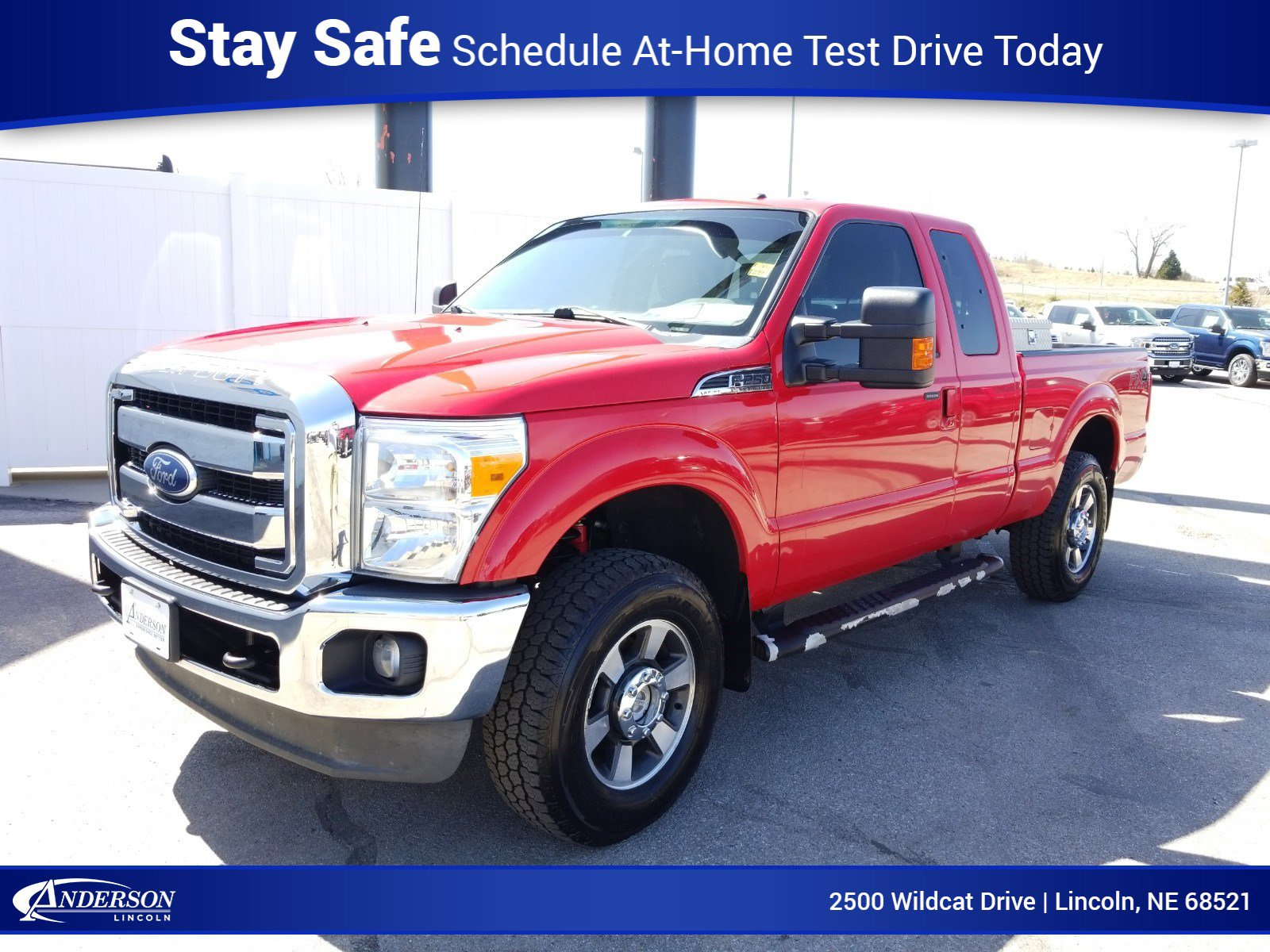 Used 2012 Ford Super Duty F-250 SRW Lariat Extended Cab Pickup for sale in Lincoln NE