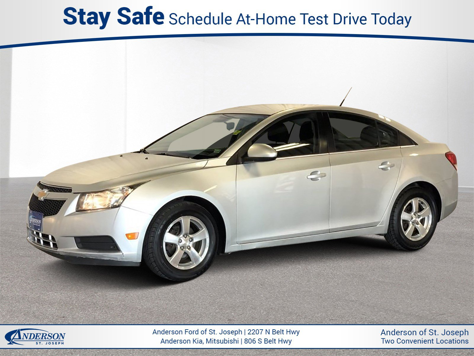 Used 2013 Chevrolet Cruze 1LT 4dr Car for sale in St Joseph MO