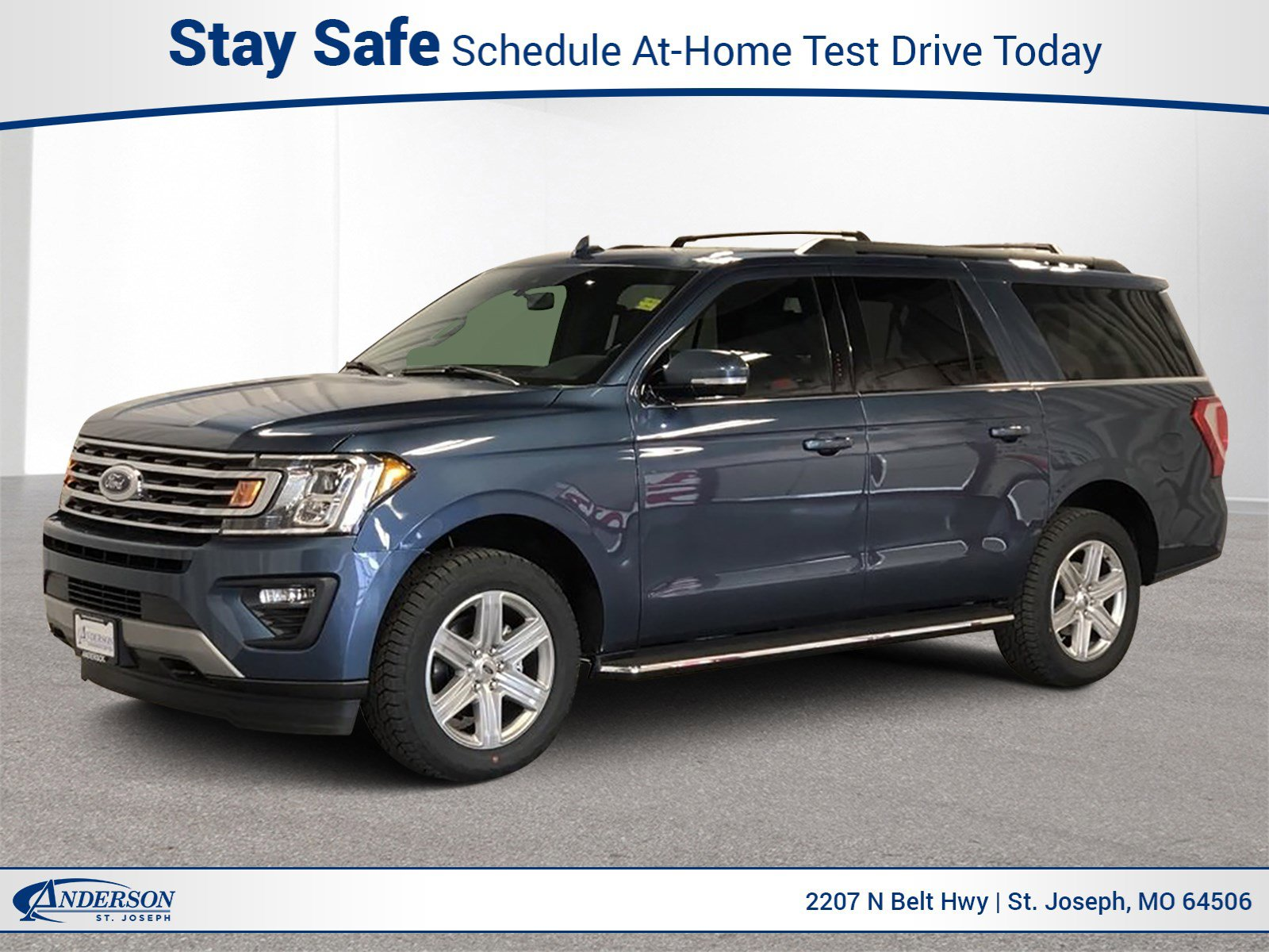 New 2020 Ford Expedition Max XLT Sport Utility for sale in St Joseph MO