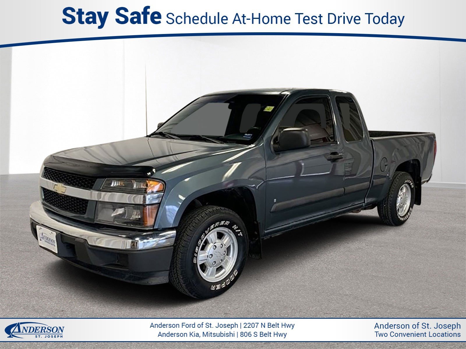 Used 2007 Chevrolet Colorado LT w/1LT Extended Cab Pickup for sale in St Joseph MO