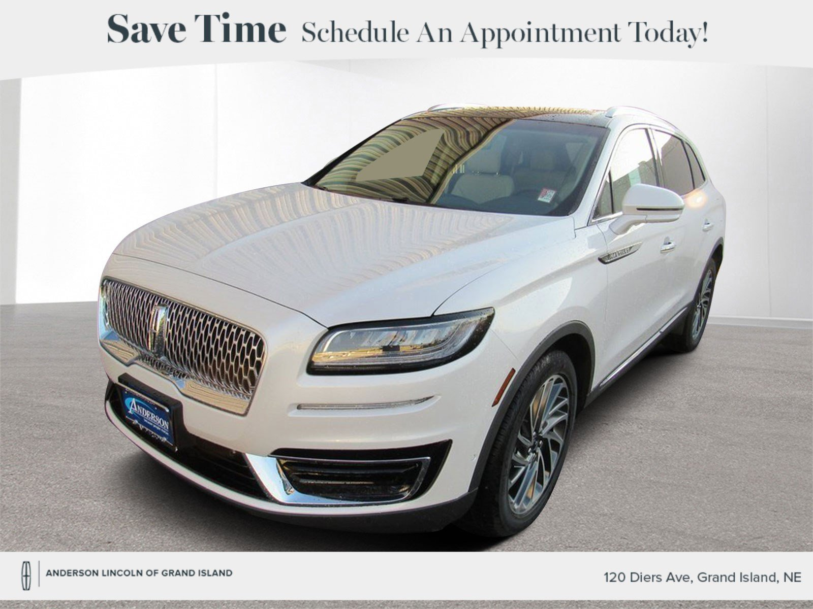 New 2019 Lincoln Nautilus Reserve 4D Sport Utility for sale in Grand Island NE