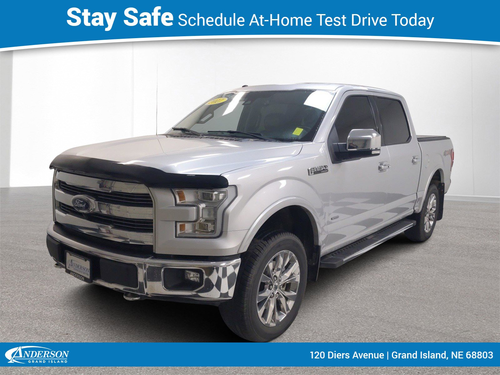 Used 2017 Ford F-150 Lariat 4D SuperCrew for sale in Grand Island NE