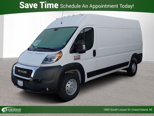 New 2020 Ram Promaster Cargo Van High Roof Full-size Cargo Van for sale in Grand Island NE