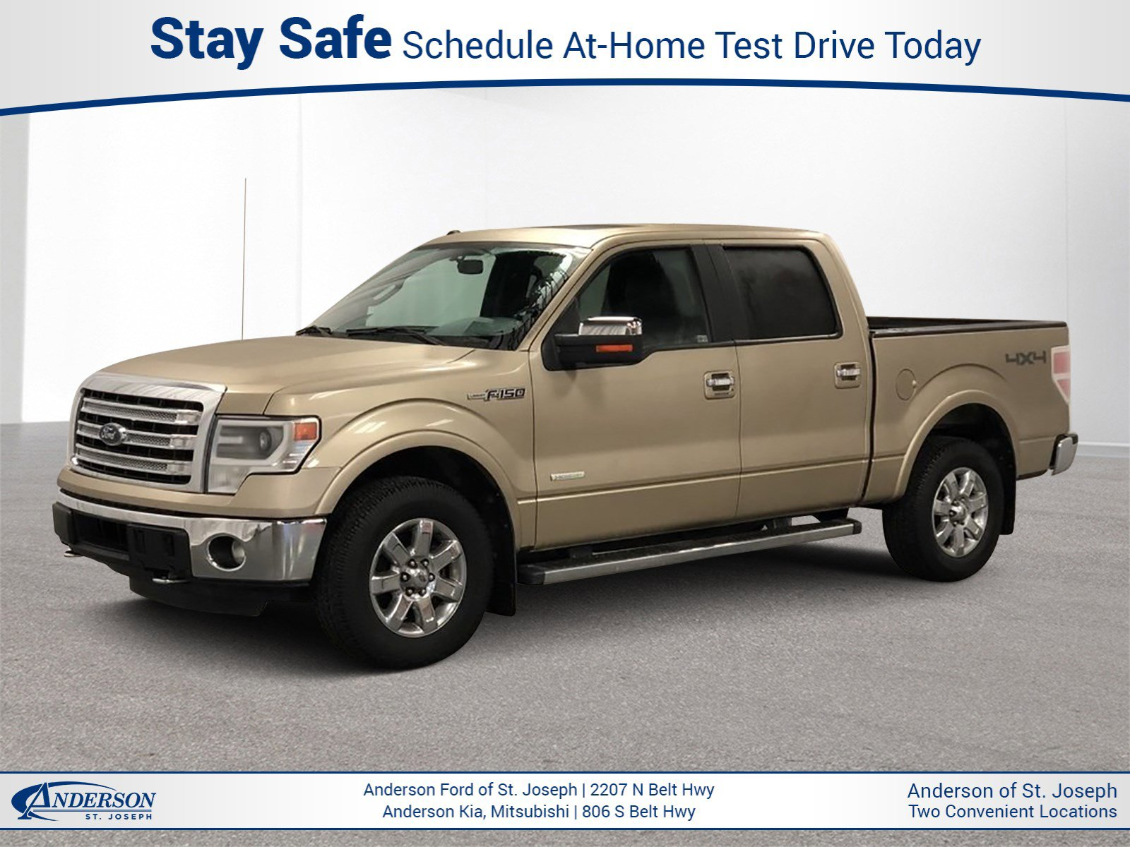 Used 2014 Ford F-150 Lariat Crew Cab Pickup for sale in St Joseph MO