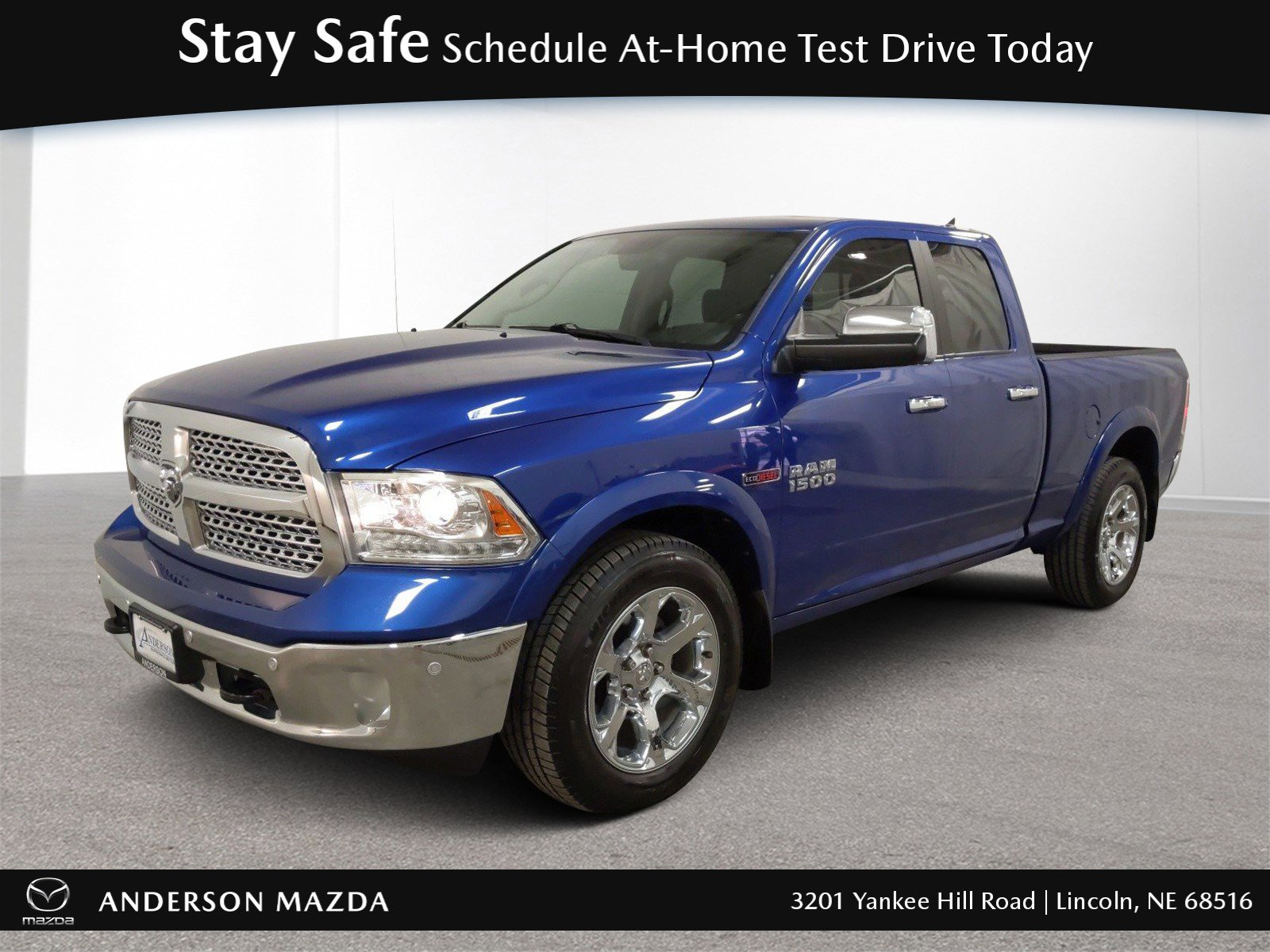 Used 2015 Ram 1500 Laramie Crew Cab Pickup for sale in Lincoln NE