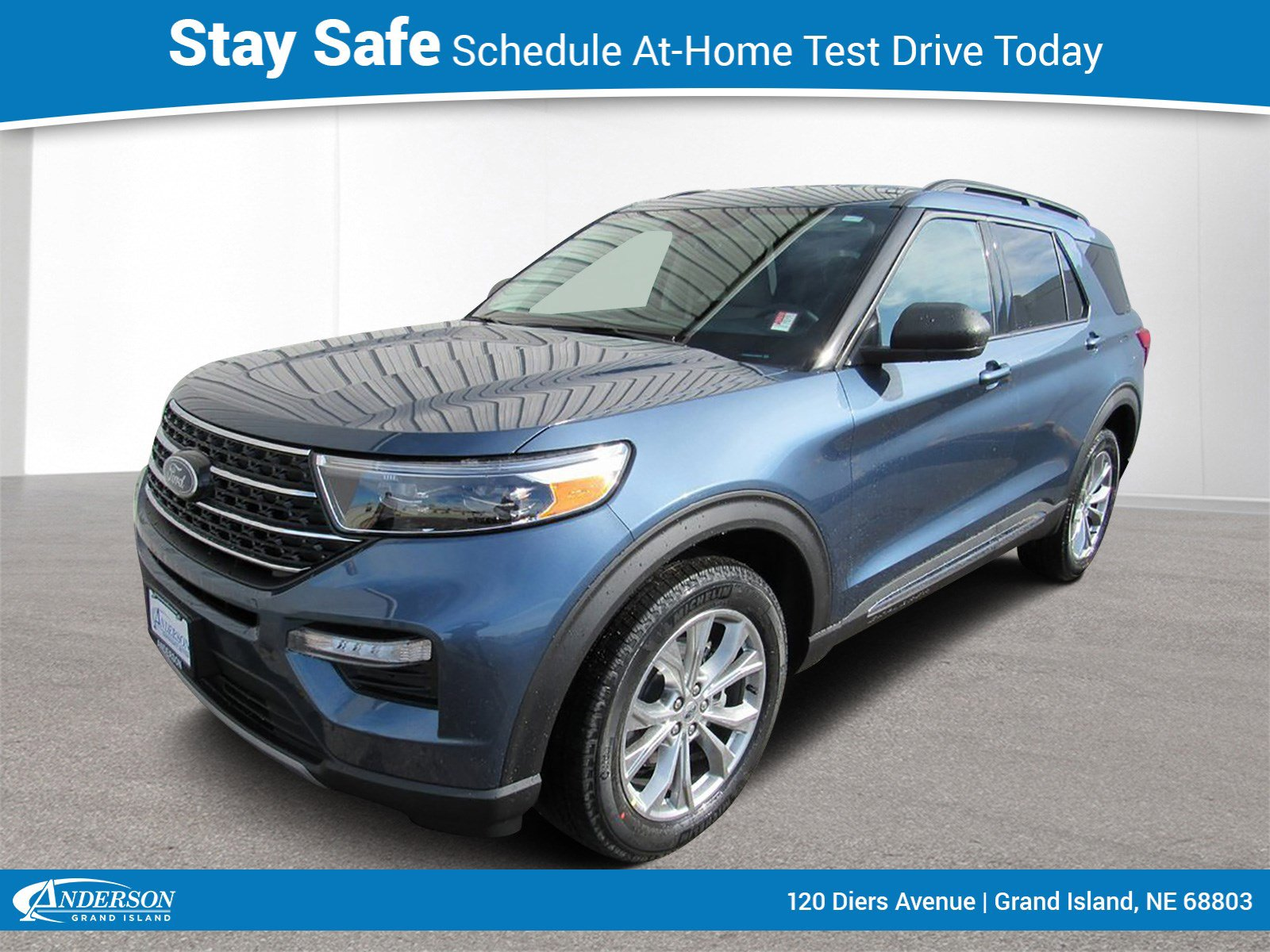 New 2020 Ford Explorer XLT 4D Sport Utility for sale in Grand Island NE