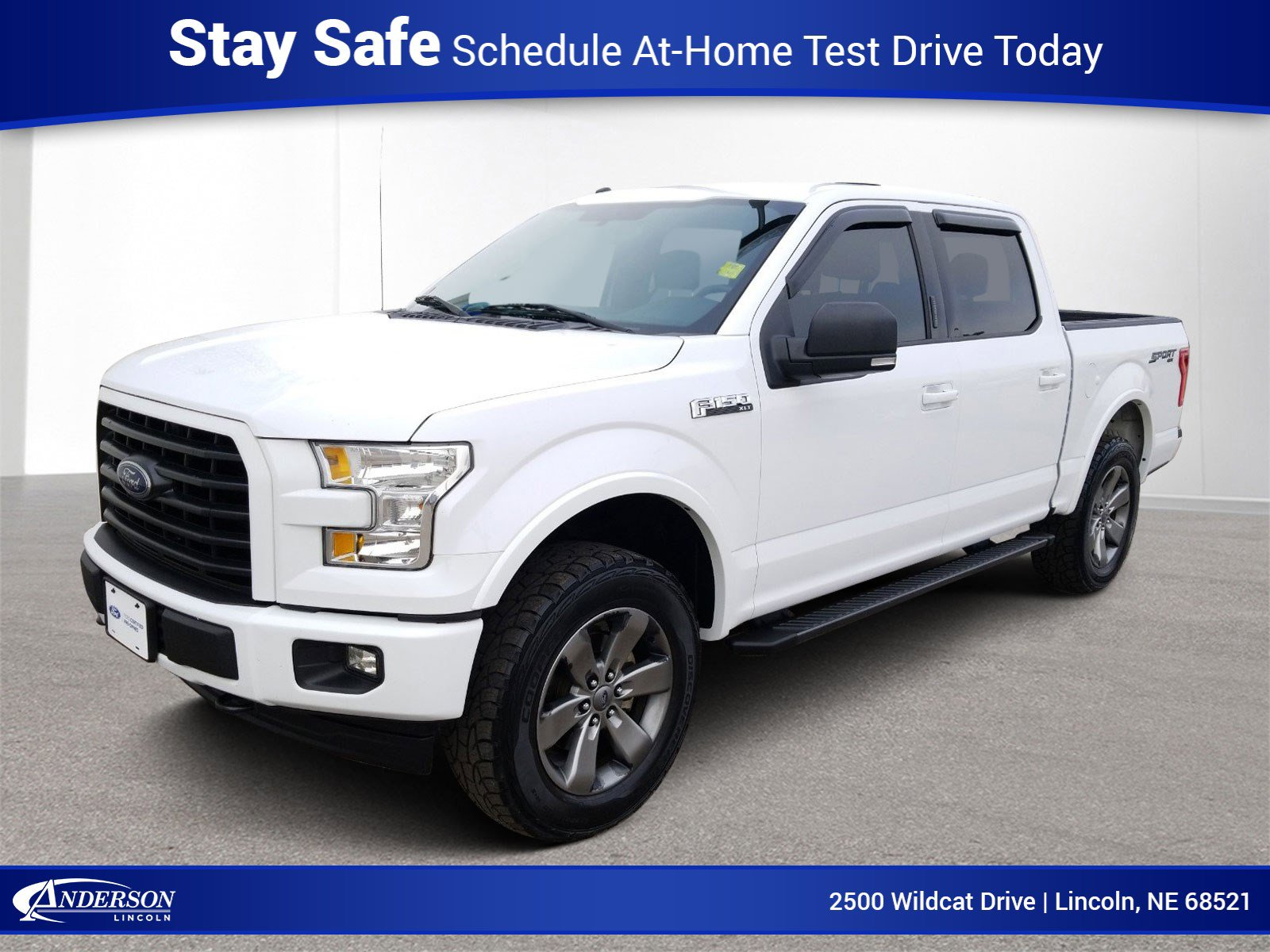 Used 2017 Ford F-150 XLT Crew Cab Pickup for sale in Lincoln NE