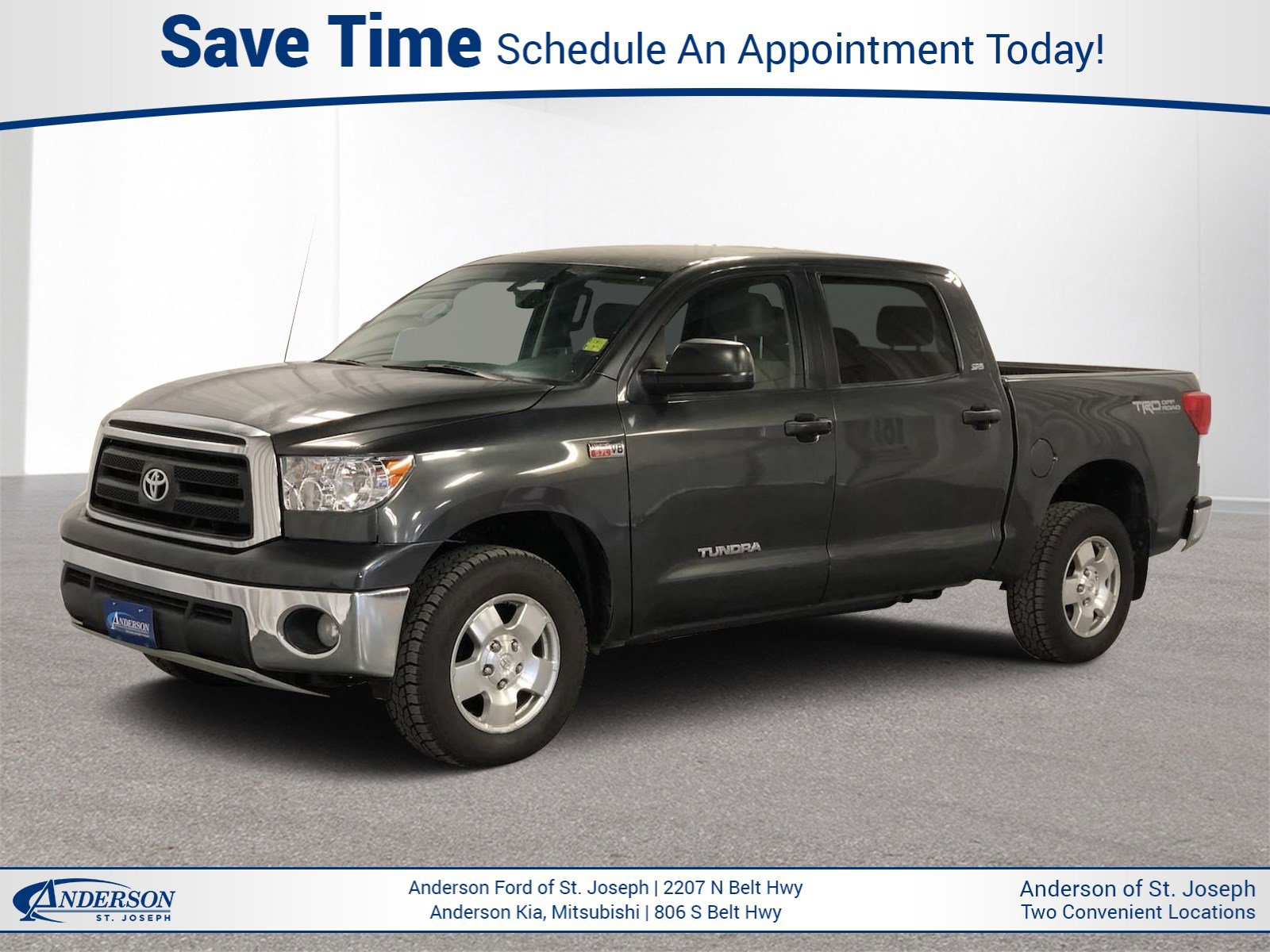Used 2012 Toyota Tundra 4WD Truck Grade Crew Cab Pickup for sale in St Joseph MO