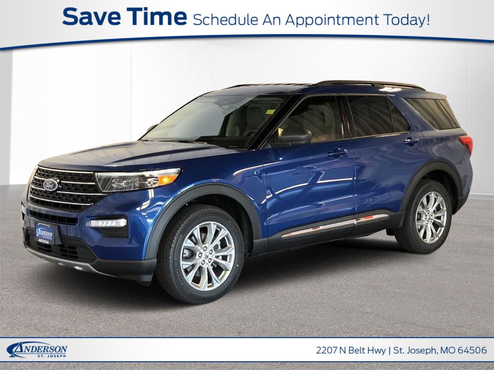 New 2020 Ford Explorer Xlt Sport Utility for sale in St Joseph MO