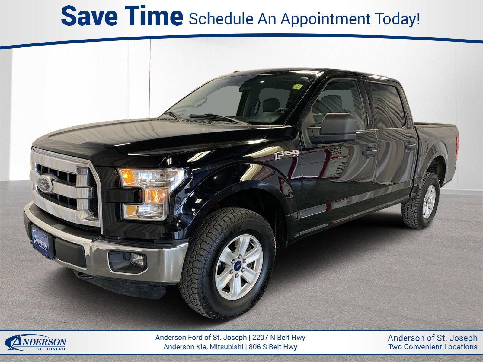 Used 2016 Ford F-150 XLT Crew Cab Pickup for sale in St Joseph MO