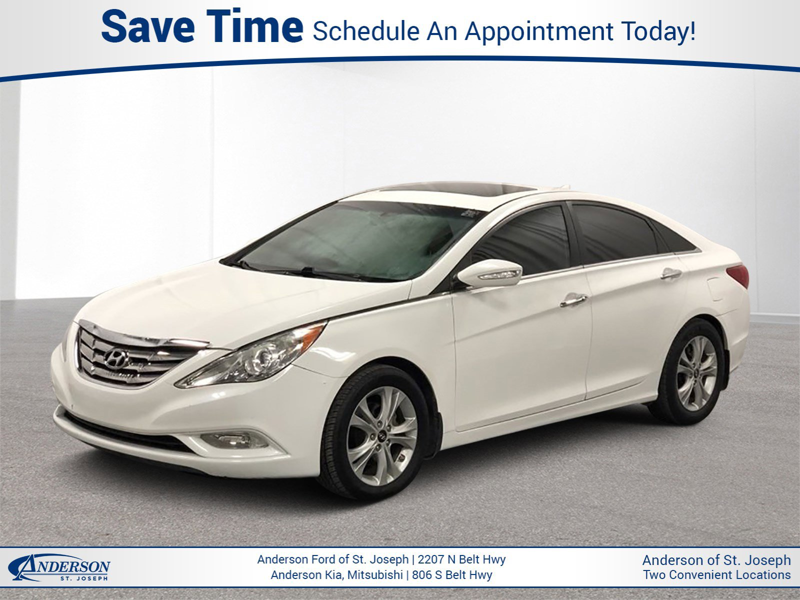 Used 2011 Hyundai Sonata Ltd 4dr Car for sale in St Joseph MO