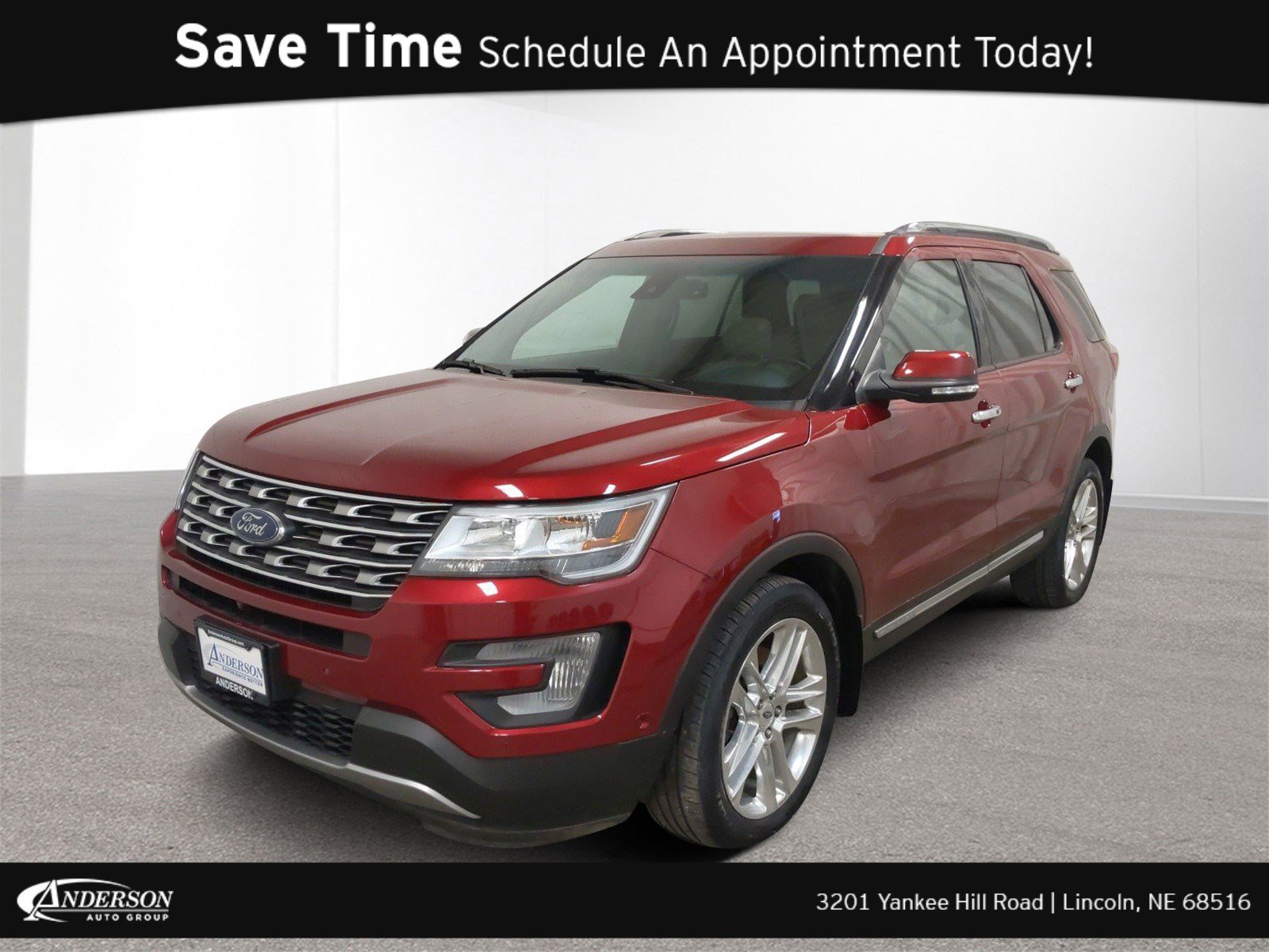 Used 2016 Ford Explorer Limited Sport Utility for sale in Lincoln NE